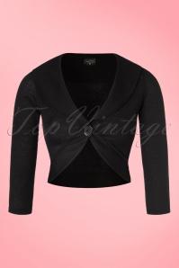 Steady Clothing Marilyn Bolero in Black  141 10 19534 20160808 0003a