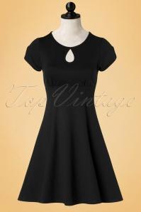 Steady Clothing Charm Me Keyhole Dress In Black 102 10 18371 20160808 002WDoll
