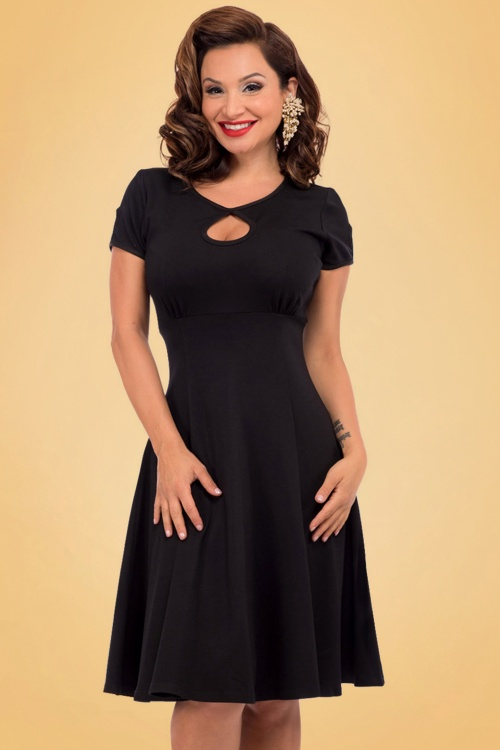 Steady Clothing Charm Me Keyhole Dress In Black 102 10 18371 20160808 007A