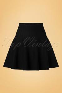 Derhy Elaboration Black Skirt 122 10 18500 20160810 0005W