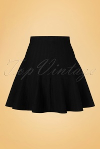 Derhy Elaboration Black Skirt 122 10 18500 20160810 0004W