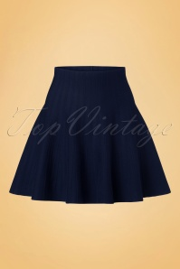 Derhy Elaboration Marine Blue Skirt 122 30 18502 20160810 0005W