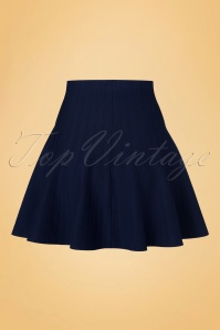 Derhy Elaboration Marine Blue Skirt 122 30 18502 20160810 0004W
