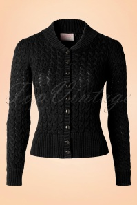 Banned Knitted Cardigan Black 16366 20151014 0004W