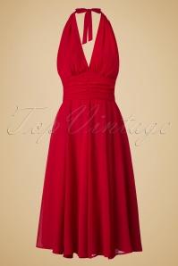 Bunny Monroe Dress in Red 102 20 19552 20160811 0003W