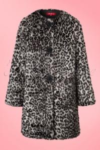 Derhy Leopard Print Coat 152 19 18493 20160815 0004W