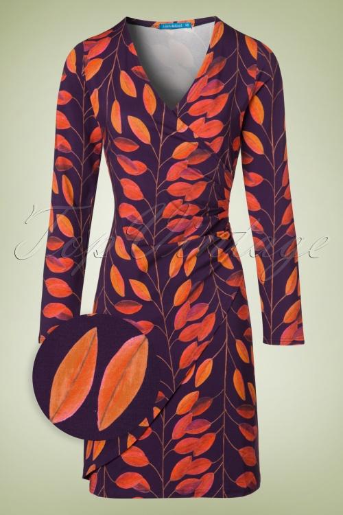 Lien & Giel Buenos Aires Leaves Dress 100 69 19155 20160816 0007WV