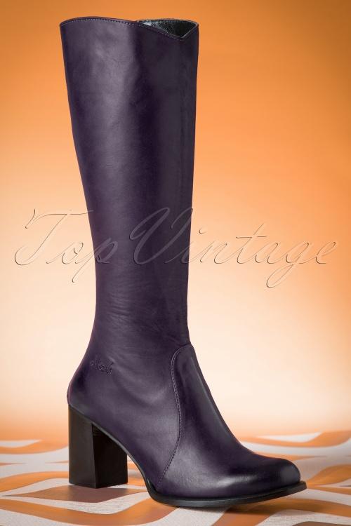 Lien & Giel San Diego Boots in Purple 440 60 19153 01W