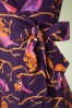 Lien & Giel Madrid Dress With Purple Birds 100 69 19150 20160816 0011A