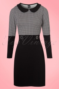 Mademoiselle Yéyé Sharon Dress Houndstooth 100 14 18738 20160817 0004a