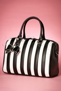 Lola Ramona Viola Striped Bag 212 14 19147 08172016 011W