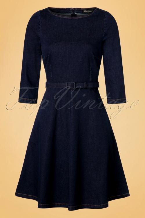 King louie Betty Dress Denim 19112 20160819 0004W