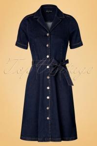 King louie Lana Dress Denim 19121 20160819 0007W