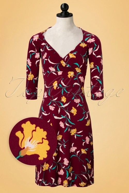 King louie Gina Dress Wisdom Beet Red 19023 20160819 0003WVDoll