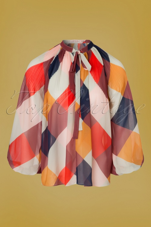 Traffic People Colorful 70s Blouse 112 57 18619 20160822 0002W