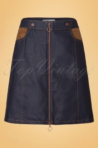 Abricot 60s Denim Skirt 123 30 19505 20160822 0007W