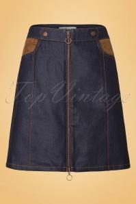 Abricot 60s Denim Skirt 123 30 19505 20160822 0007W