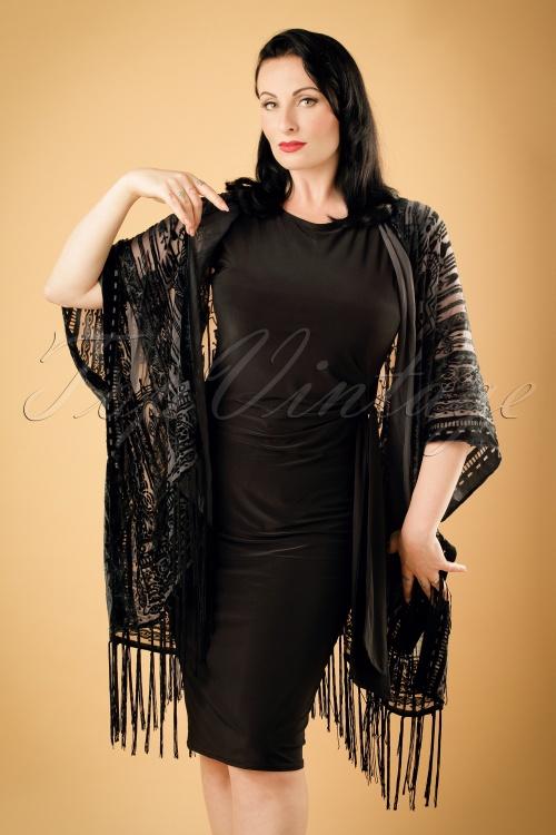 Amici Aurelia Kimono in Black 141 10 19381 08132012 004