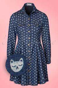 Minueto Cat Denim Dress 106 39 18837 20160823 0006W1
