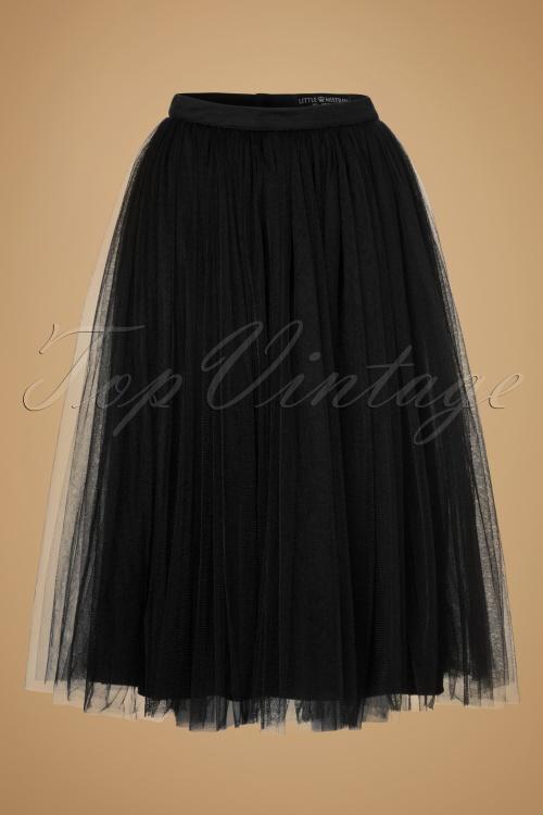 Little Mistress Black Tulle Skirt 122 31 19479 20160823 0001W