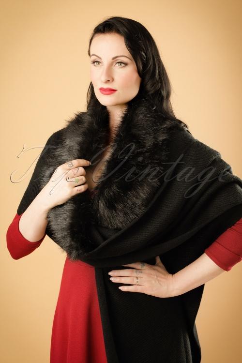 Amici Evita Scarf in Black 240 10 19380 08132012 011