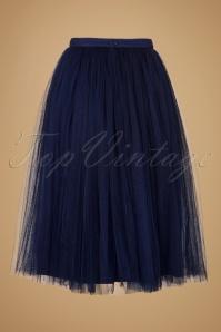 Little Mistress Navy Tulle Skirt 122 31 19480 20160823 0014W