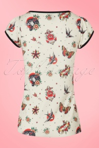 Sassy Sally White Butterfly Shirt 111 59 1521 20160826 0007W