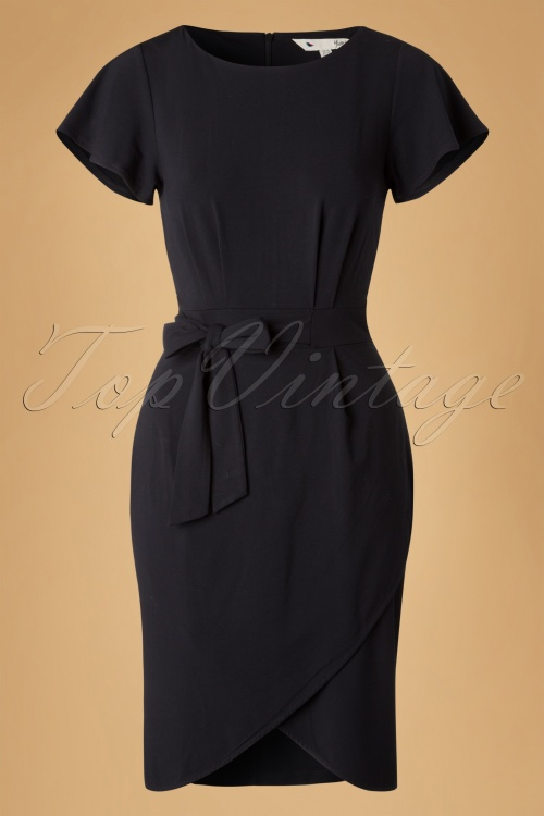 Yumi Kimono Sleeve Black Bow Dress 100 10 18341 20160120 0006W