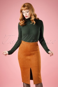 Bright and Beatiful Hazel Skirt in Rust 18828 20160531 model01BewerktW