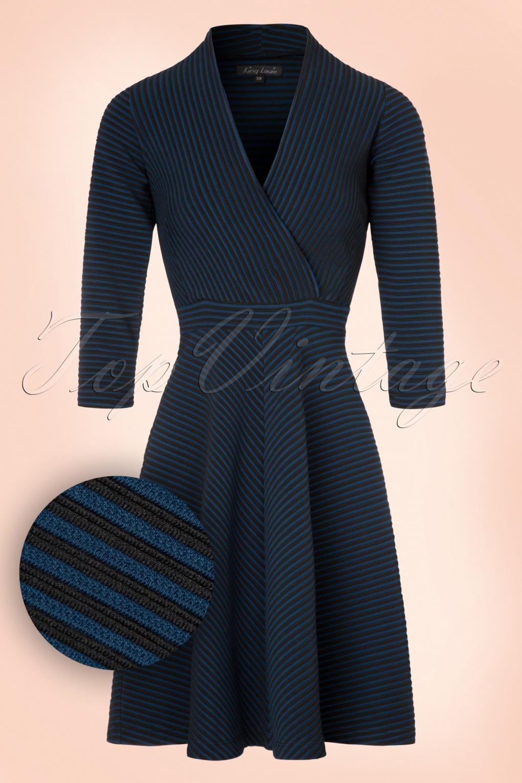 Kleid elegant petrol
