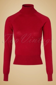 King Louie  Rollneck Top in Red 113 20 19018 20160830 0002W