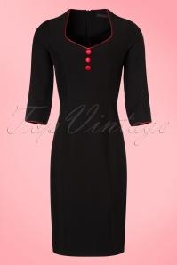 Hulahup Black Pencil Dress  100 10 19219 20160830 0007W