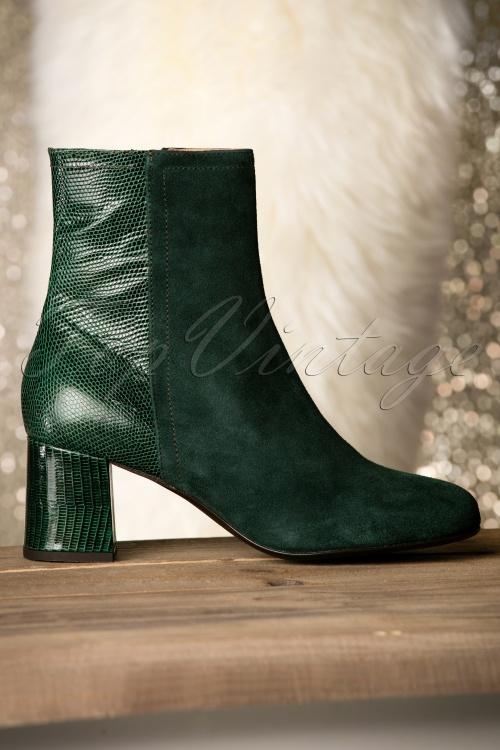 Miss L Fire Jean Green Boots 430 40 18781 08252016 021W