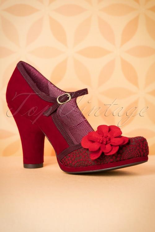 Ruby Shoo Tanya Pumps in Red 402 20 18523 08302016 006W