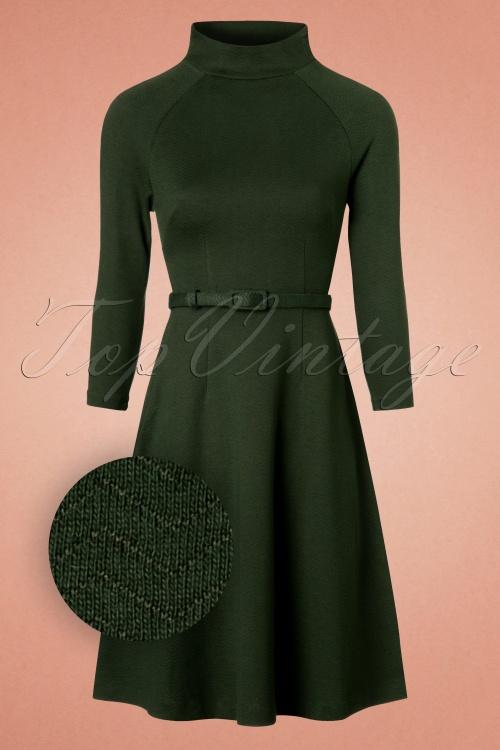 King louie Monice Dress in Thyme 19062 20160819 0005WV