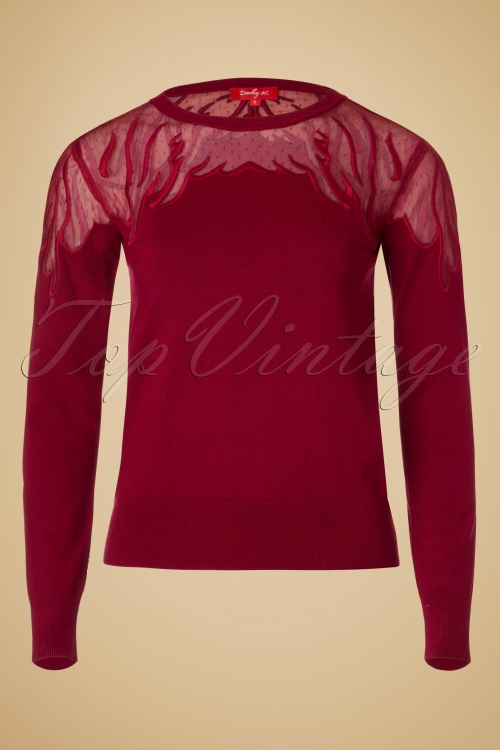 Derhy Occasion Pull Rouge 113 20 18507 20160831 0006W