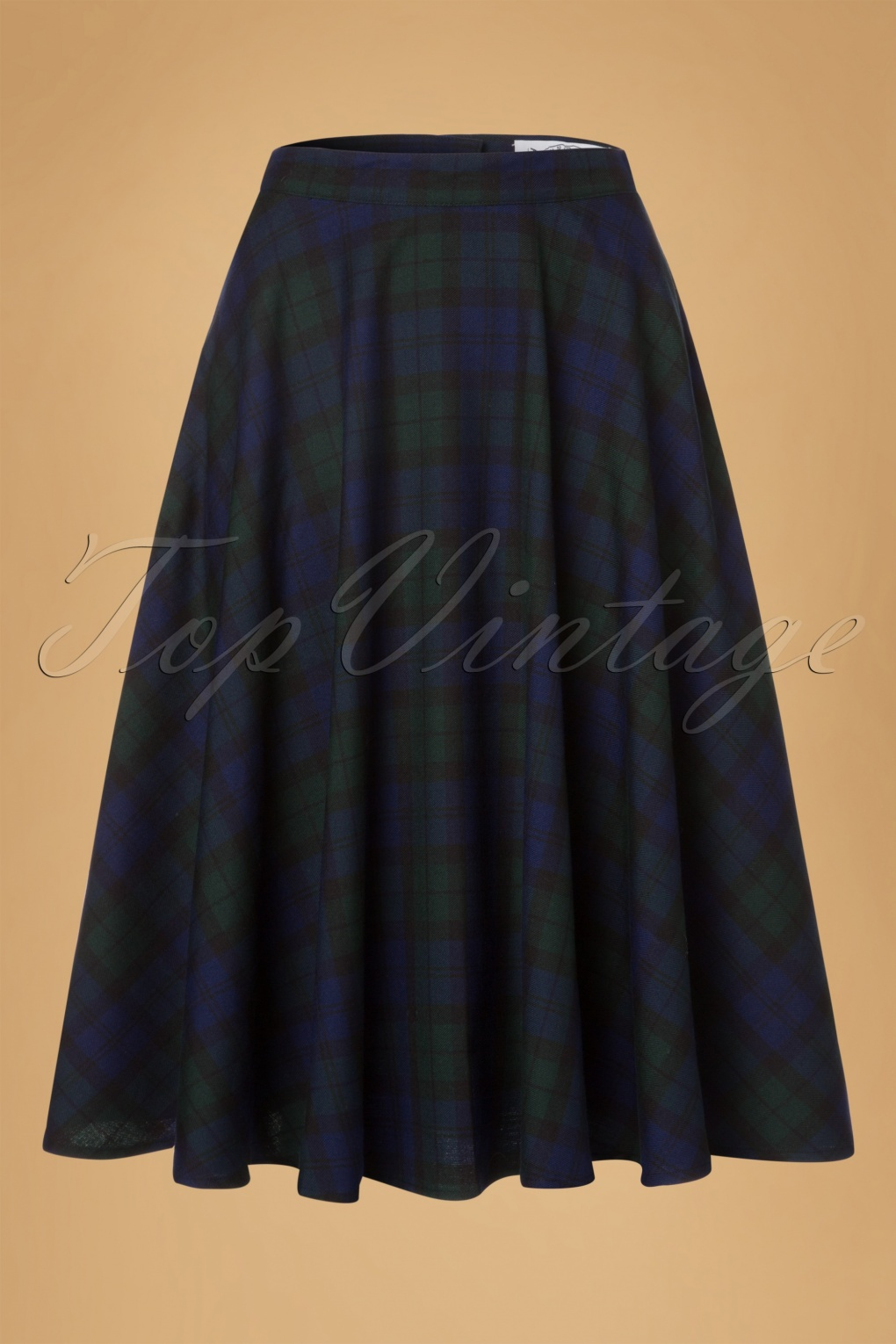 1950s Swing Skirt, Poodle Skirt, Pencil Skirts 50s Doralee Swing Skirt in Dublin Tartan £37.39 AT vintagedancer.com