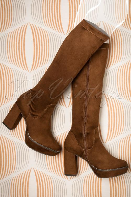 Tamaris Cognac High Boots 440 70 18801 09052016 035aW