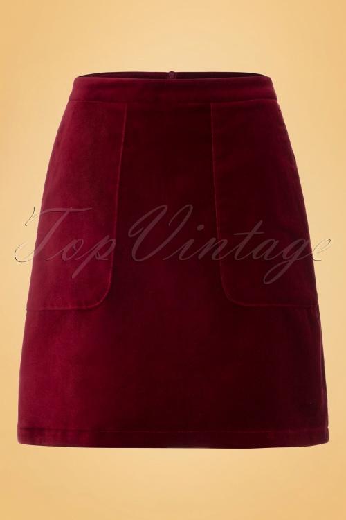 King Louie 70s Beet Red Leyla Skirt 120 20 19093 20160906 0010W