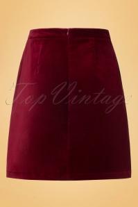 King Louie 70s Beet Red Leyla Skirt 120 20 19093 20160906 0005W