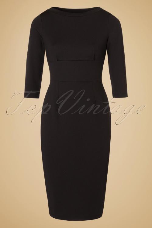 King Louie Black Pencil Gloria Dress 100 10 19100 20160906 0002W