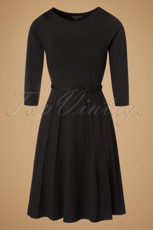 King Louie Black Skater Dress 102 10 19103 20160906 0005W