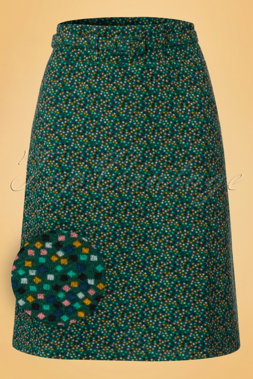 Wow to go! Cloture Barrier Dark Green Skirt 123 49 18552 20160906 0002W1
