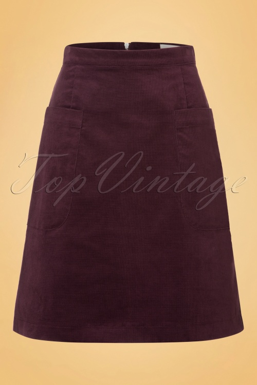 Louche Georgina Skirt in Purple 123 60 18514 20160831 0006W