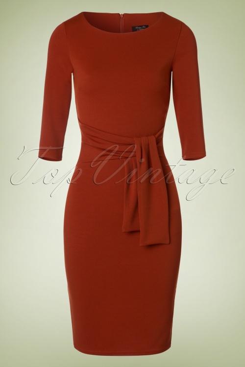Vintage Chic 50s Victoria Pencil Dress 100 20 19488 20160909 0005W