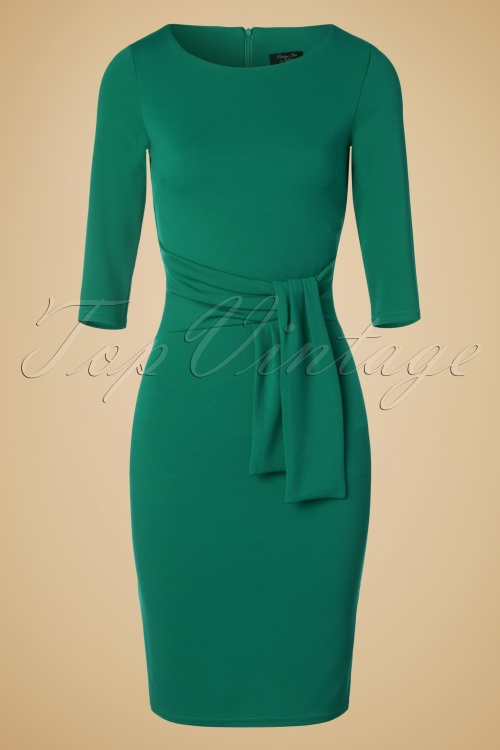 Vintage Chic 50s Victoria Pencil Dress 100 20 19486 20160909 0005W