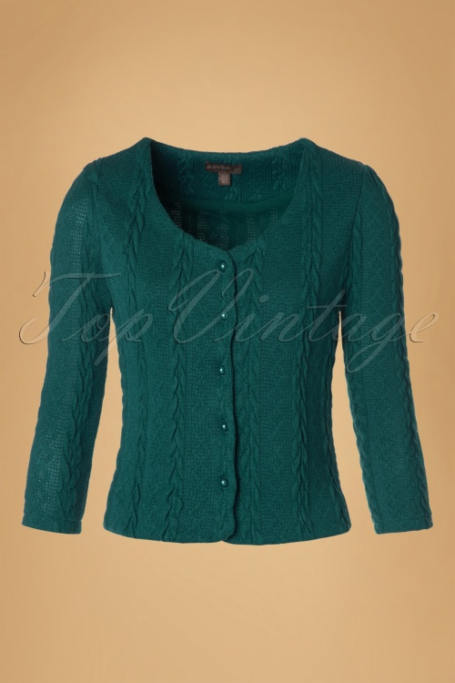 Fever Bray Cardigan in Teal 140 40 19163 20160909 0004W