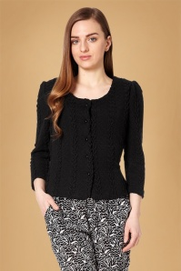 Fever Bray Cardigan in Black 140 10 12081 20160909 0005V