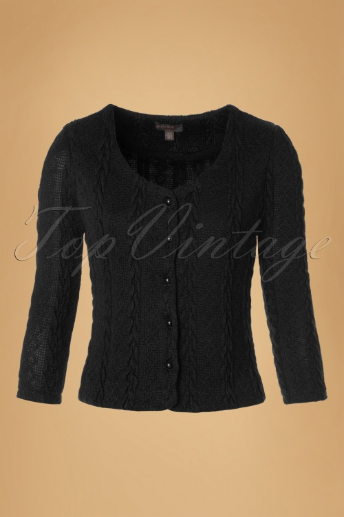Fever Bray Cardigan in Black 140 10 12081 20160909 0004W