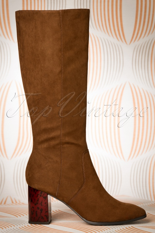 Tamaris Boots in Cognac 440 70 18797 09122016 009W